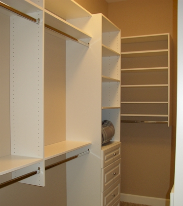Wall Hung Closet Systems U2014 90% Of Our Clients Prefer Wall Mounted Units,  They Are Great For Tight Budgets And Wonu0027t Require Cutting Or Notching  Around Your ...